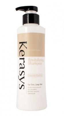 Шампунь укрепляющий для тонких и ослабленных волос KeraSys 400 г: фото