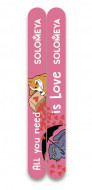 Набор пилок для натуральных и искусственных ногтей Solomeya All you need is love 74г*2: фото
