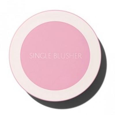 Румяна THE SAEM Saemmul Single Blusher PP04 Blueberry Milk: фото