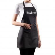 Фартук CC Brow, черный, нейлон длина 60 см: фото