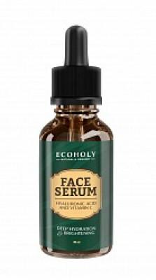Сыворотка для лица с витамином С и гиалуроновой кислотой Lucas' Cosmetics ECOHOLY 30 мл: фото